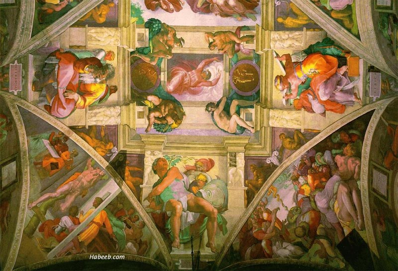 "HowStuffWorks ""Creation of Adam Within the Sistine Chapel Ceiling"""