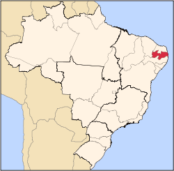 Paraiba state in Brazil