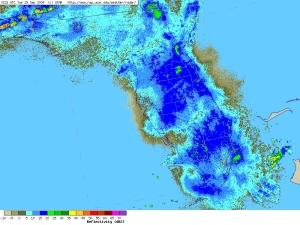 Radar 9-30-09 image at 12:30 AM Eastern Daylight savings time.