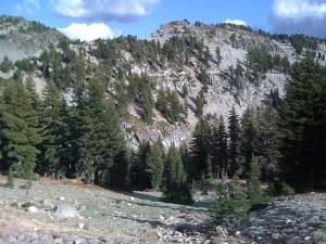 Craggy Trail-Lassen Volcanic National Park