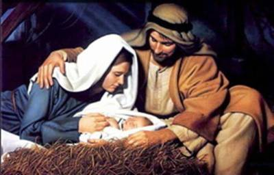 Birth of Christ from an e-mail