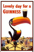Guinness Toucan Poster from Ian
