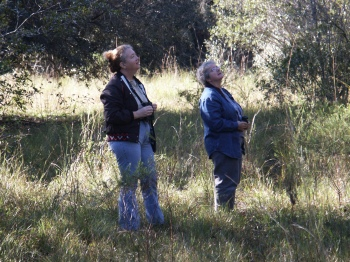 Marian (Naturalist at Avon Park Range) and Lee 2004