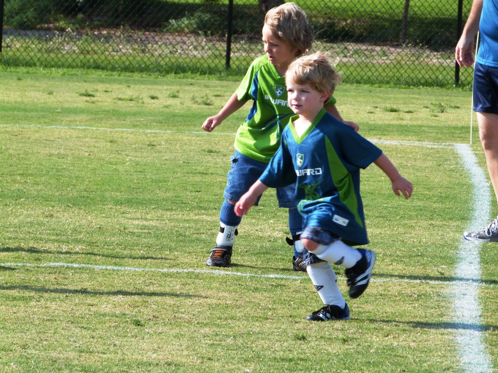 Upward Soccer 4-5 yr olds