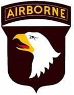 The 101st Airborne Division patch