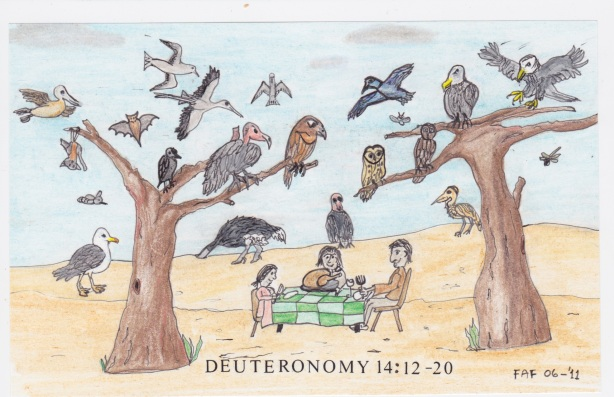 Deuteronomy 14:12-20 by Francois Maurice