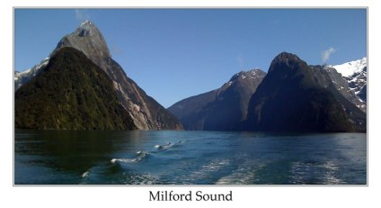 New Zealand - Milford Sound by Ian