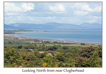 Looking North from near Clogherhead by Ian