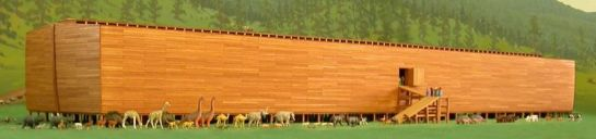 Ark with Animals ©CreationWiki
