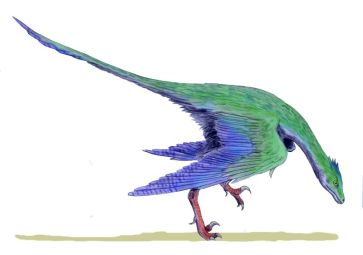 Dinosaur with Feathers ©WikiC