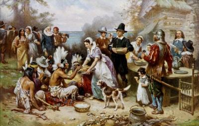 Strangers and Pilgrims ©WikiC