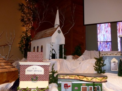 Christmas Decorations at Faith 2014