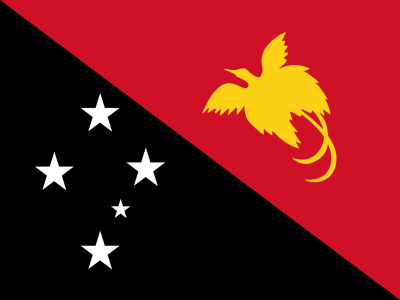 Flag of Papua New Guinea ©PD