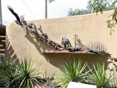 Dino to Bird Display - Desert Museum Tucson by Lee