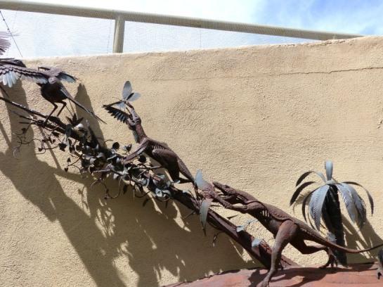 Dino to Bird Display - Desert Museum Tucson by Lee