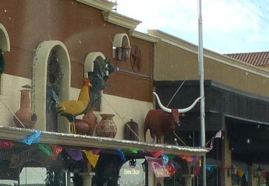 Big Chicken in Ft Stockton TX
