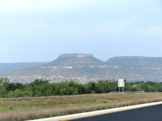 Texas Scenery while traveling
