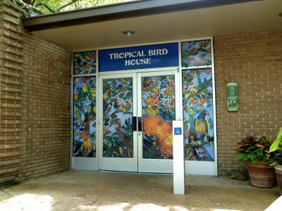 Tropical Bird House Houston Zoo by Lee