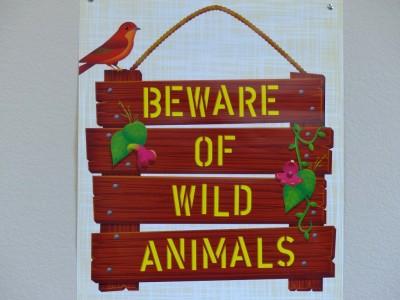 Beware of Wild Animals