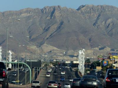 Leaving El Paso, Texas