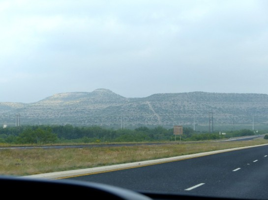 Traveling across West Texas
