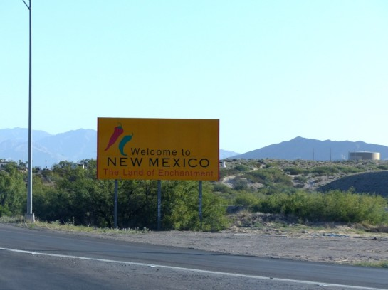New Mexico greeting