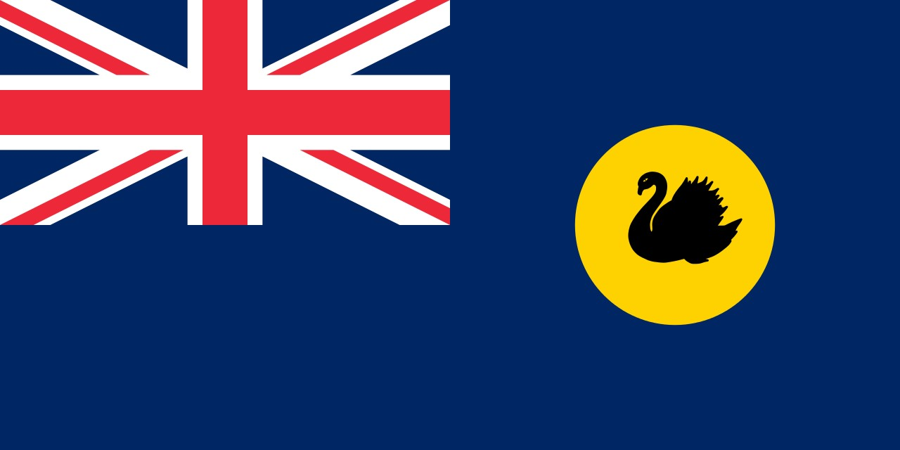 Flag that bird - Flag of Western Australia