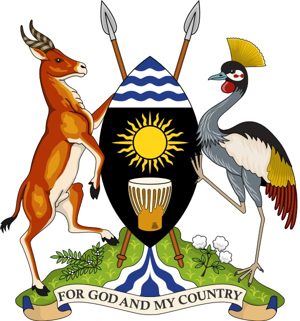 Ugandan coat-of-arms Crested Crane