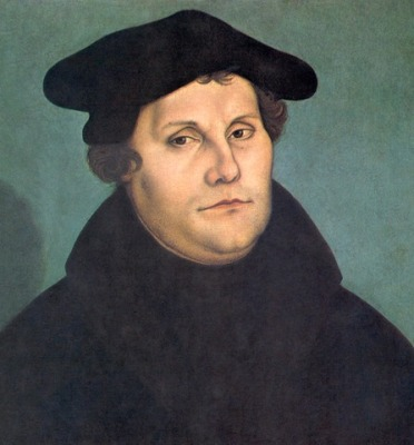 Martin Luther by Cranach restoration ©WikiC