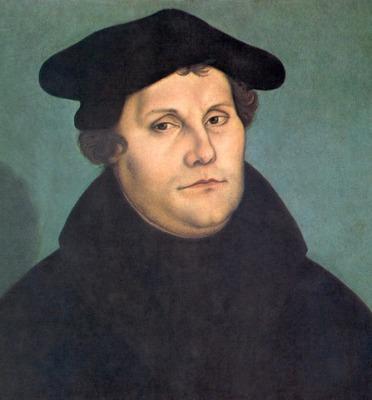 Martin Luther by Cranach restoration ©WikiC
