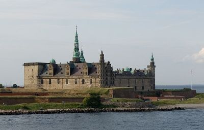 Medieval castle at Helsingør (on the island of Zealand)