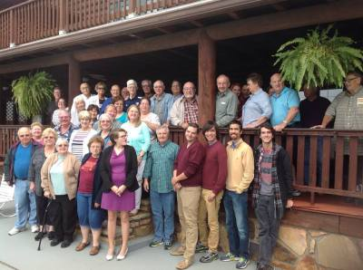 Fellowship in the Smokies — at Tuckaleechee Retreat Center.