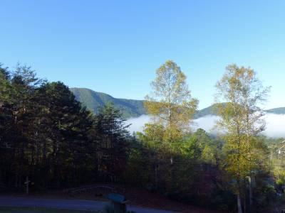 Mountains from the Tuckaleechee Retreat Center Lodge