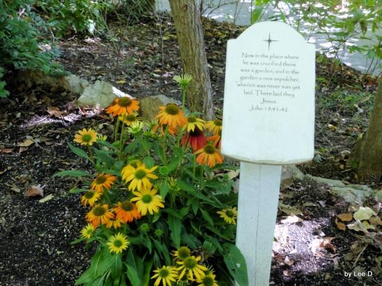 Prayer Garden Sign