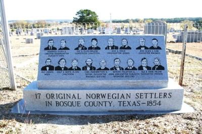 Bosque County's Norwegian pioneers burial site in Norse