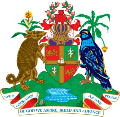 (Grenada coat of arms – public domain)