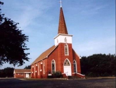 Our Savior's Lutheran Church of Norse, in Bosque County, Texas