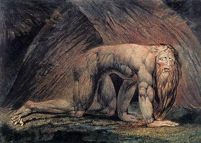 Nebuchadnezzar - depicting the king during his bout of insanity by William Blake ©WikiC