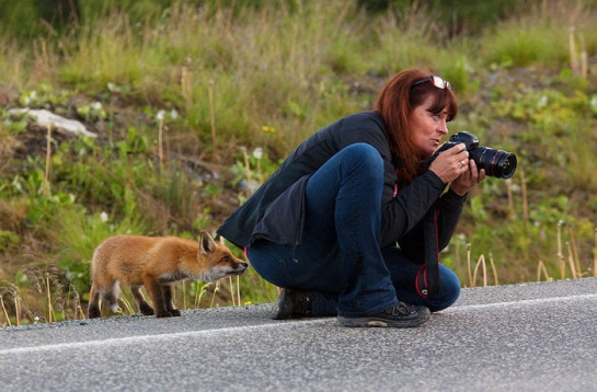 Photographers with animals 15