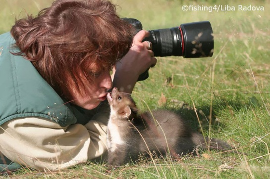 Photographers with animals 5