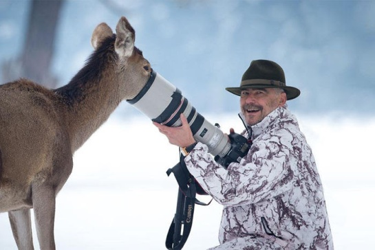 Photographers with animals 8
