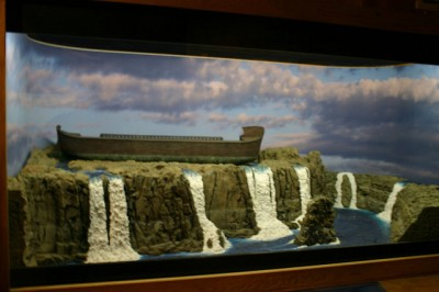 Ark Model at Creation Museum ©Flickr Daniel Tuttle