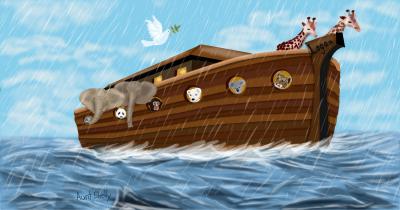 Noah's Ark © SketchPort