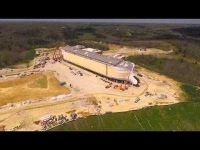 Ark Encounter During Construction