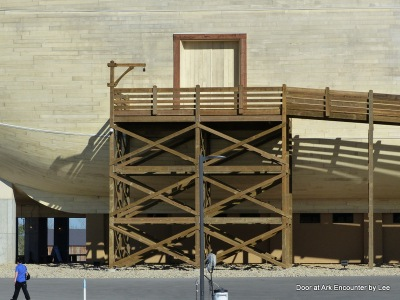 The Door of the Ark at Ark Encounter by Lee