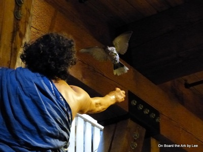 Dove Returned to Adam with Olive Leaf - by Lee at the Ark Encounter