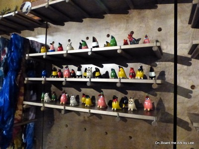 Birds at the Ark Encounter Store