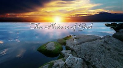 Nature of God Intro Page for Video by Andie's Isle