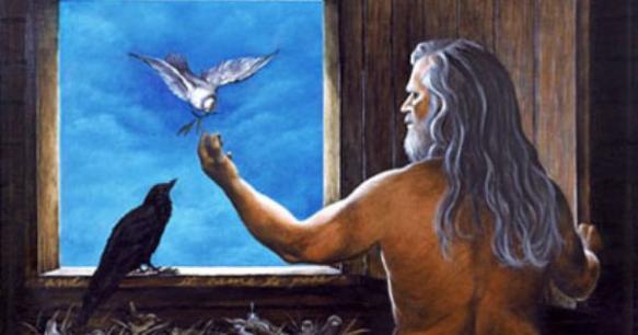 Noah-dove-raven-Ark