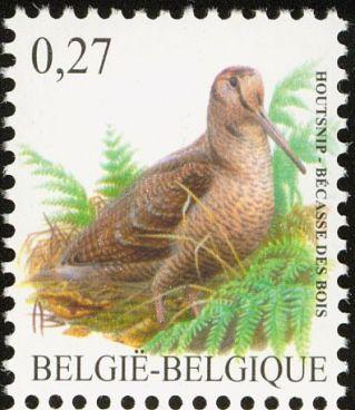 eurasianwoodcock-belgium-postage